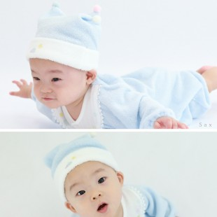 Aenak Birth Newborn Baby Hat - Blue